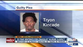 #3 2nd brother sentenced in Craigslist killing
