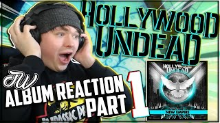 First Listen to... HOLLYWOOD UNDEAD 'NEW EMPIRE Vol. 1' | 2020 Album REACTION: Part 1 | JW REACTIONS