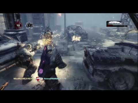 Ess MooMooMiLK Outplays4DAYS on Gears of War 3 ✍❀