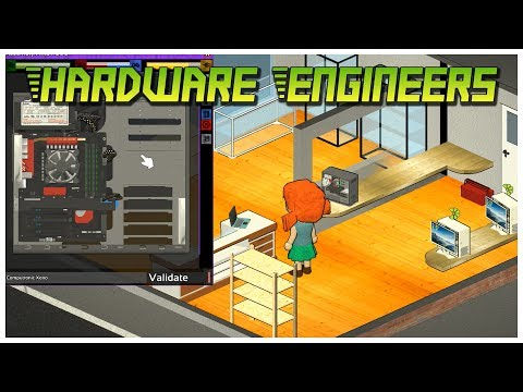 Hardware Engineers [Early Access] - Let's Play / Gameplay / Preview