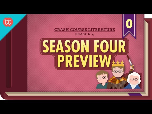 Crash Course Literature Season Four Preview!