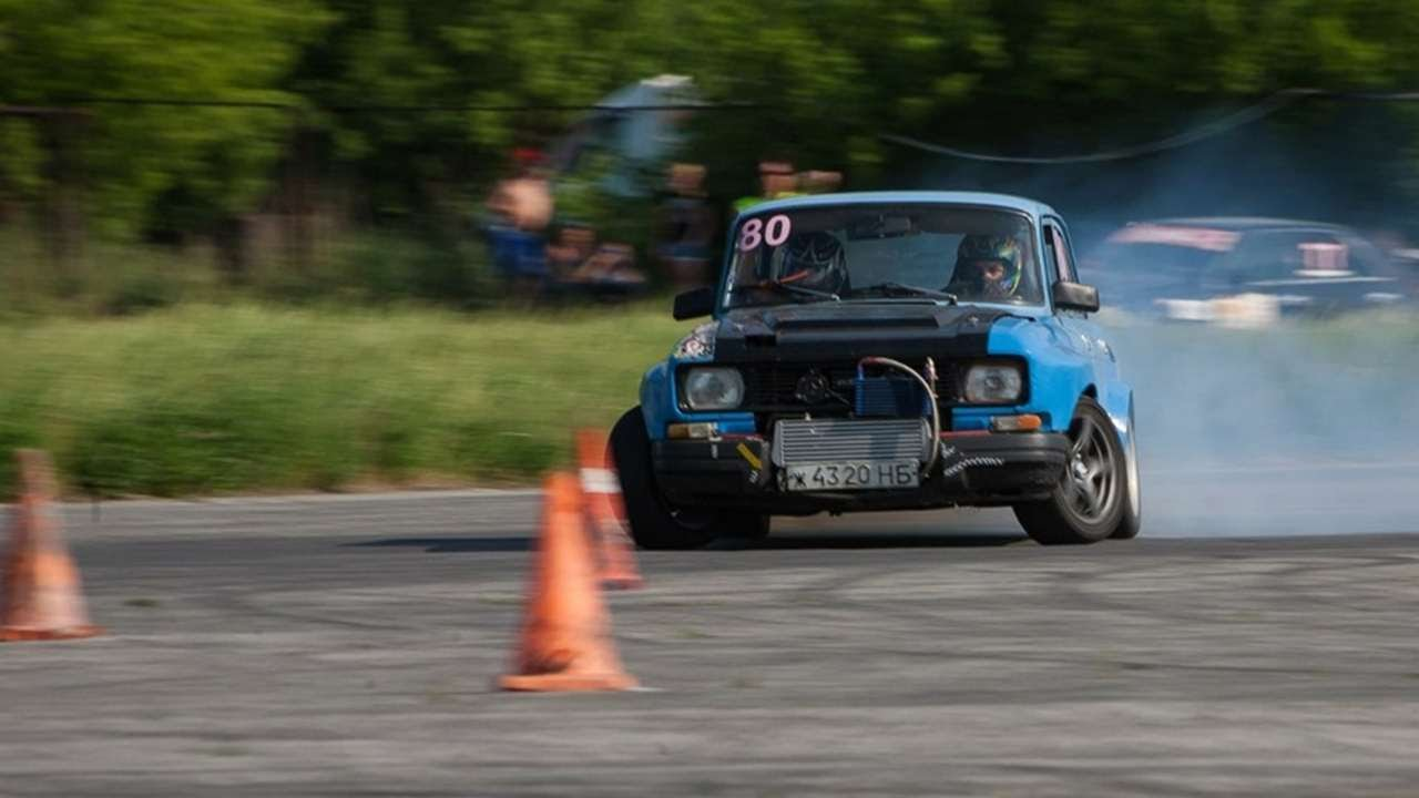 Moskvitch Drift Russian Cars Youtube