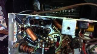General Electric KL-70 AM/SW Radio Video #4 - More Asbestos