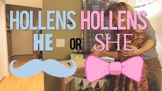 Hollens HE or Hollens SHE?