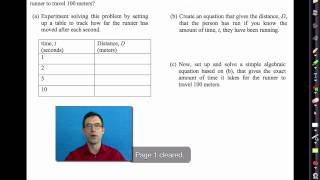 Common Core Algebra I.unit #1.lesson #1. Rates, Patterns, And Problem Solving