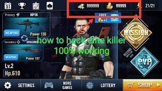 how to hack elite killer 100% working by gaming rick