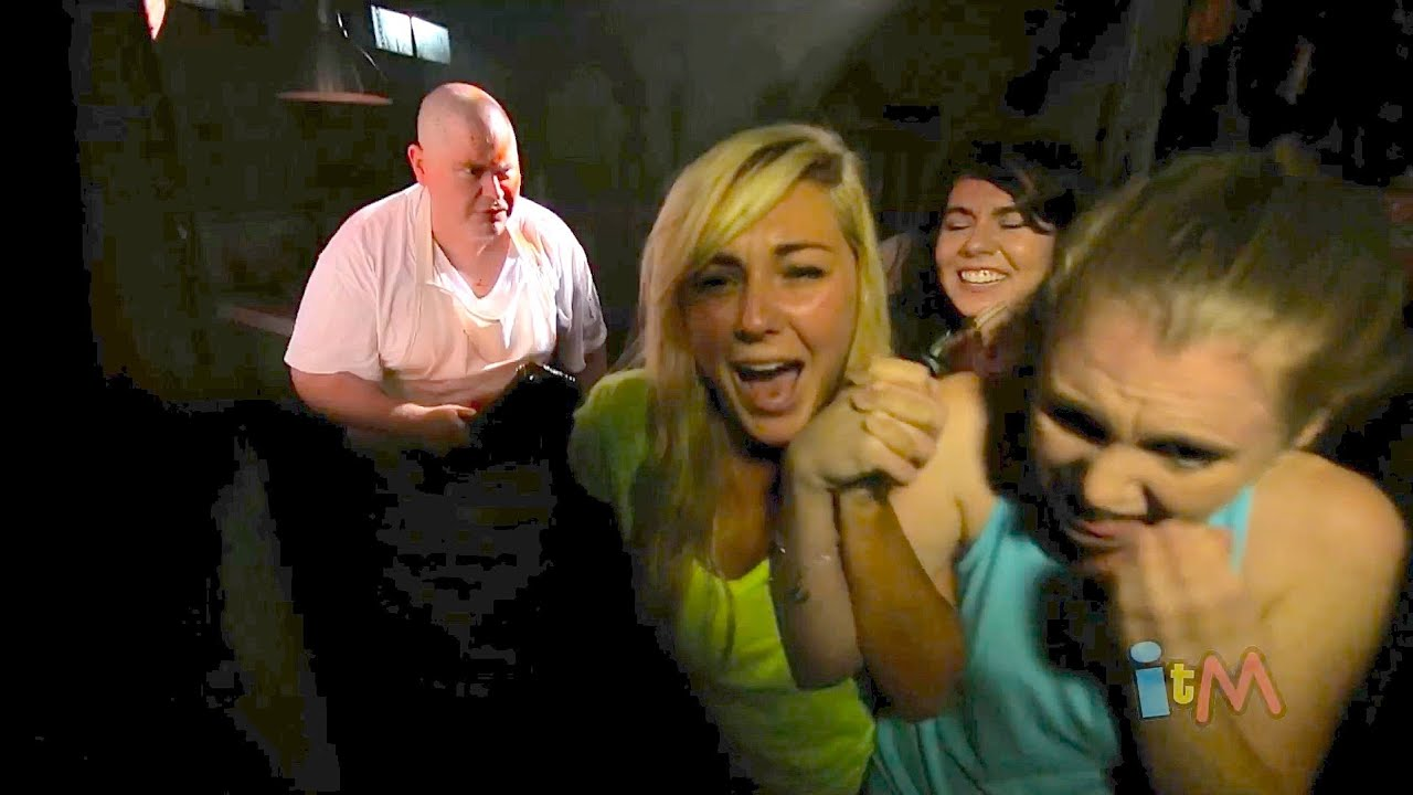 Inside Howl O Scream 2013 haunted houses at Busch Gardens Tampa
