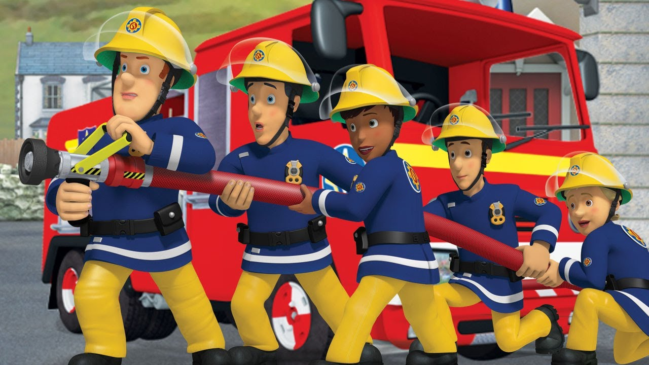 It is a picture of Effortless Fireman Sam Pic