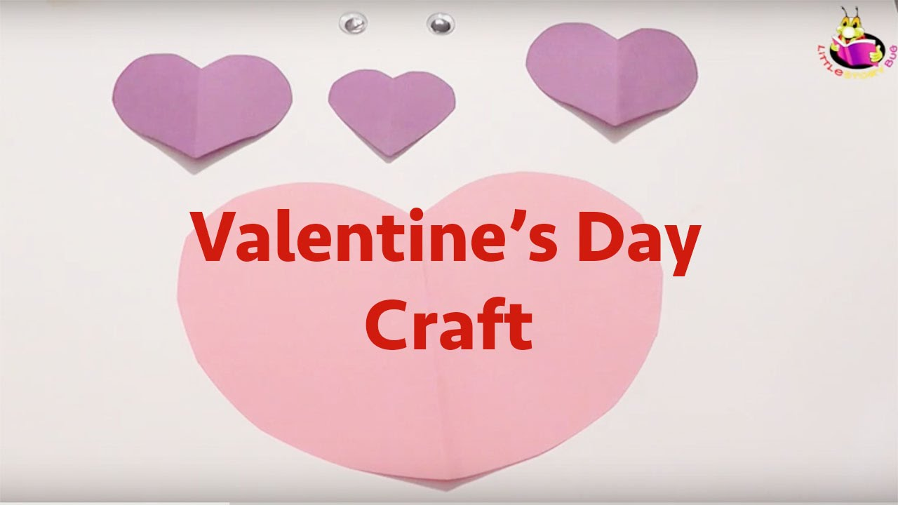 Valentine S Day Craft For Toddlers Preschoolers Youtube