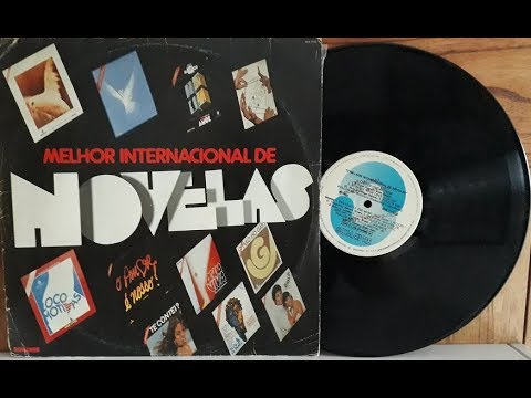 O Melhor Internacional de Novelas - Vinil Completo - 1983 - Baú al