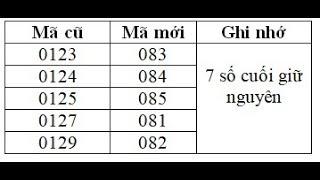 Chuyển Đổi Sim 11 số thành 10 số, Những Điều cần lưu ý