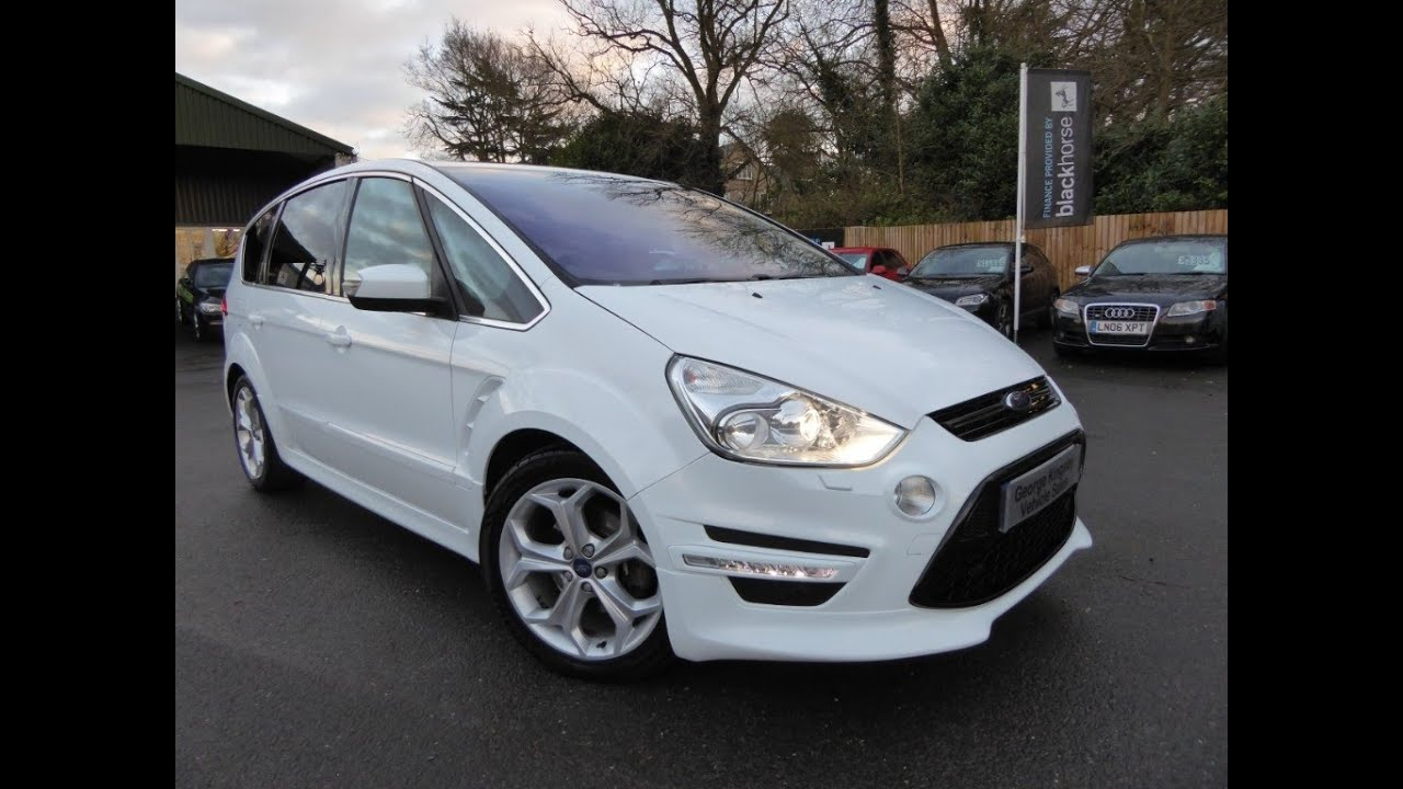 2012 ford s max t x sport for sale at george kingsley vehicle sales colchester essex 01206. Black Bedroom Furniture Sets. Home Design Ideas