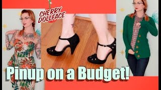 Pinup & Rockabilly Style on a BUDGET! by CHERRY DOLLFACE