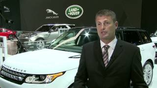 Phil Popham, Group Marketing Director, Jaguar Land Rover at NYAS 2014   AutoMotoTV
