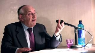 """Dr. Tovia Ben-Chorin am 07.05.2015: """"Die jüdischen Festtage und das Wesen des Menschen"""""""
