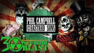 PHIL CAMPBELL AND THE BASTARD SONS - Ringleader (OFFICIAL LYRIC VIDEO)