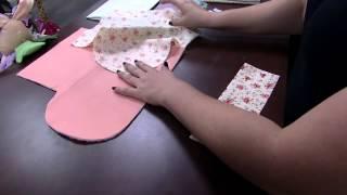 Ana Paula Stahl – Porta kit manicure patchwork Parte 1/2