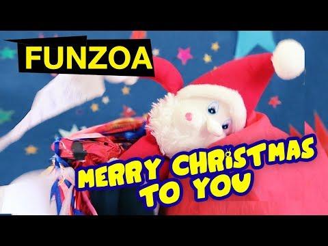 Santa Baba Says Merry Christmas To You 2017   Funzoa Greetings Whatsapp Status VIdeo