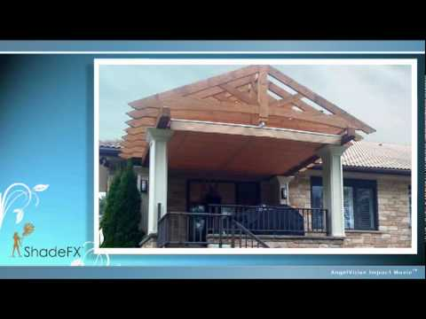 ShadeFX Retractable Shade Canopy And Pergola Canopies