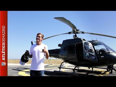 #UEFABESTPLAYER. Voyage à Monaco avec Antoine Griezmann