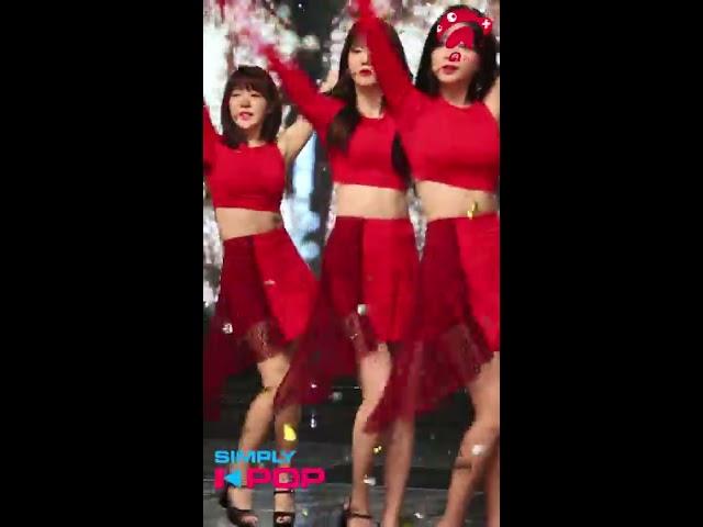 [Fancam/직캠] Haein(해인) _ LABOUM(라붐) _ Between Us(체온) _ Simply K-Pop _ 081718