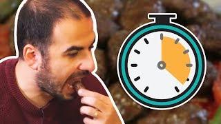 90 Saniyede Kaç Köfte Yiyebilirsin? - Hızlı Yeme Kapışması