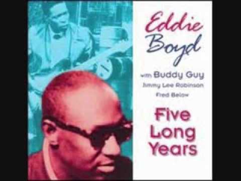 EDDIE BOYD W/ BUDDY GUY - BLUE MONDAY BLUES - LIVE 1965