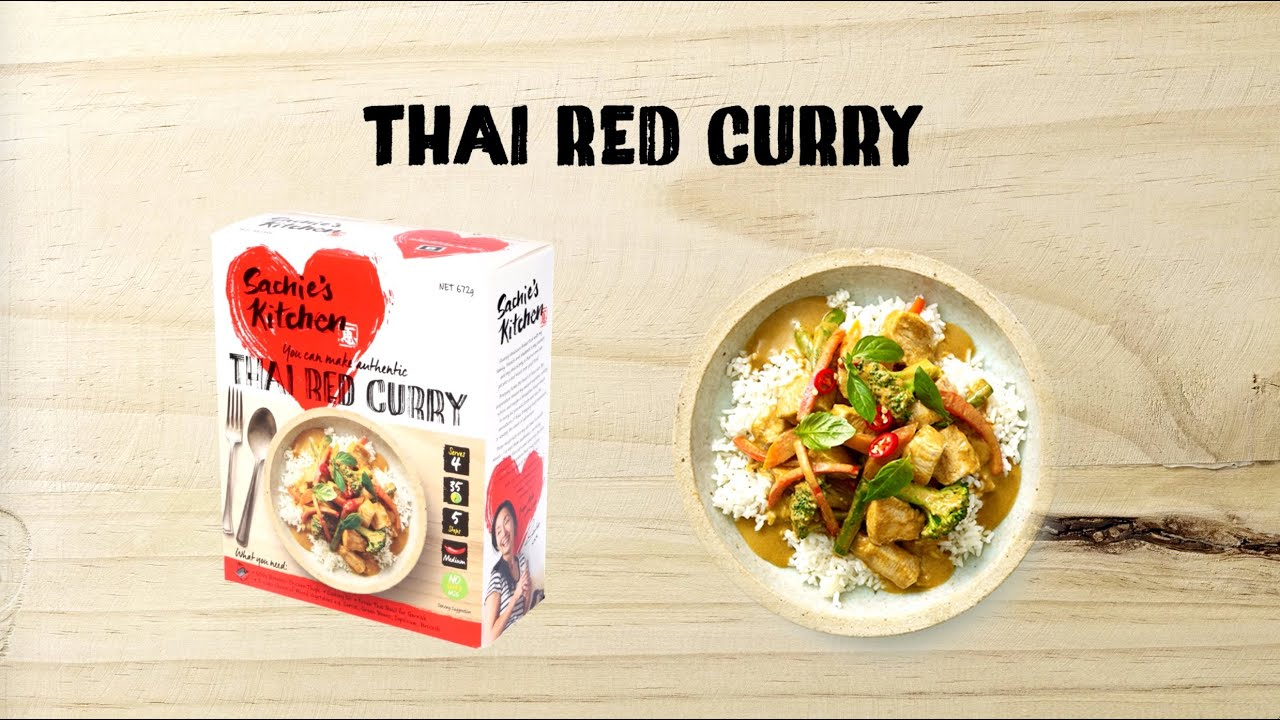 Sachie\'s Kitchen Making Thai Red Curry Meal Kit - YouTube
