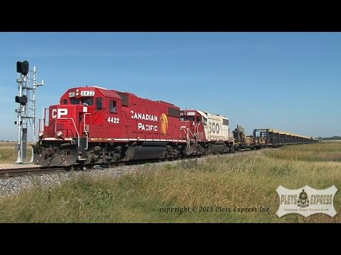 Bakken Oil Cans and Other Trains Across the North Dakota Prairie - Volume Two