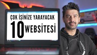 Çok İşinize Yarayacak 10 Web Sitesi
