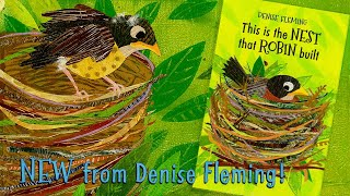 This Is the Nest That Robin Built by Denise Fleming (Official Book Trailer)