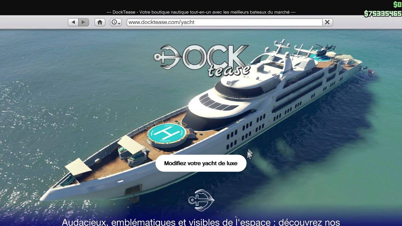 Yacht de luxe villa gta online youtube