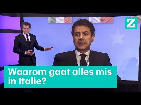 Waarom gaat alles mis in Italië?  • Z zoekt uit