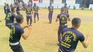 SATPAM GARDA KERTA RAHARJA Yel Yel Siswa Satpam Angkatan 344