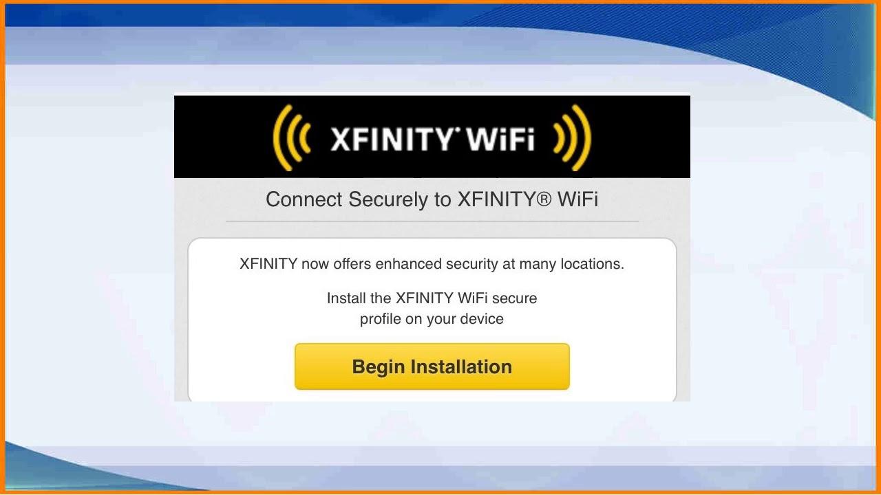 Xfinity Wifi Sign In >> Xfinity Wifi Sign In Youtube