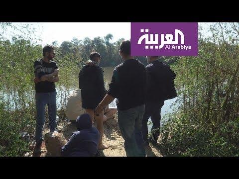 فيديو: مهاجرون عائدون من أوروبا يحاولون عبور النهر إلى تركيا  - نشر قبل 4 ساعة