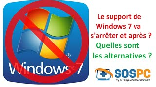Fin du support de Windows 7 : quelles sont les alternatives ?