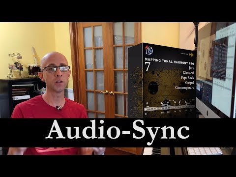 Audio-Sync Tutorial 1/3 in Mapping Tonal Harmony Pro 7