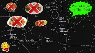 [FUNNY ATC] Pilot Diverts because HE DOESN'T LIKE THAI FOOD! :D