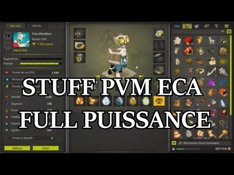 [Dofus] Stuff pvm #2 Ecaflip Cac à 1800 !!!