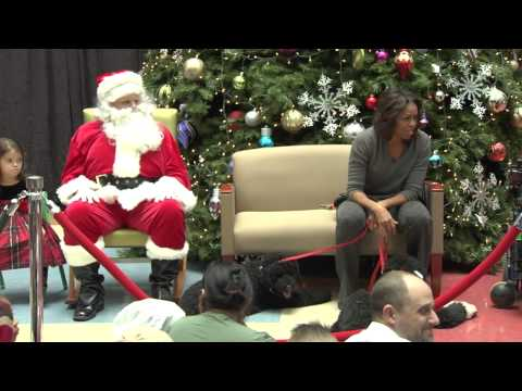 First Lady 2013 Holiday Visit | Children's National Health System