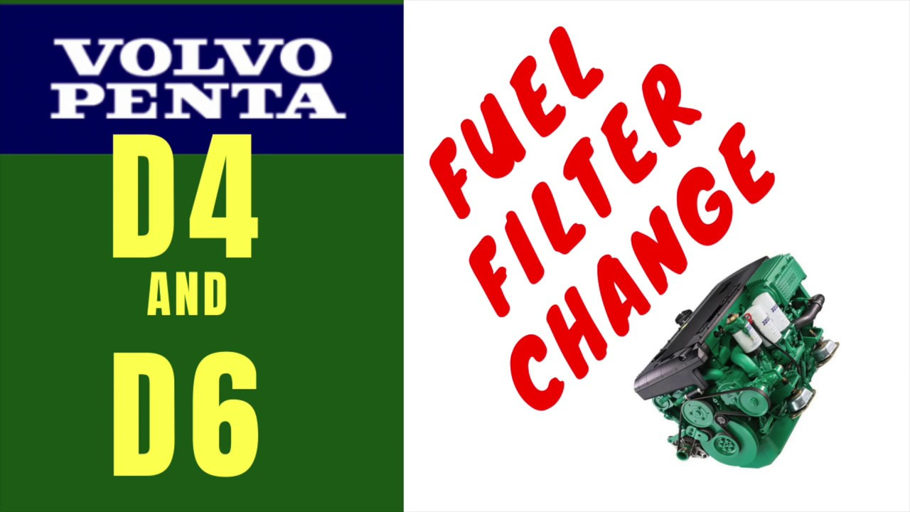 How to change a fuel filter | Volvo Penta D4 & D6 | Bayliner Capri Volvo Penta Fuel Filter Location |  | My boat care