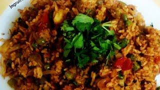 Tawa pulao recipe in Gujarati/આવી રીતે બનાવો સ્વાદિષ્ટ  તવા પુલાવ/ ઘરે સરળતાથી બનાવો તવા પુલાવ/