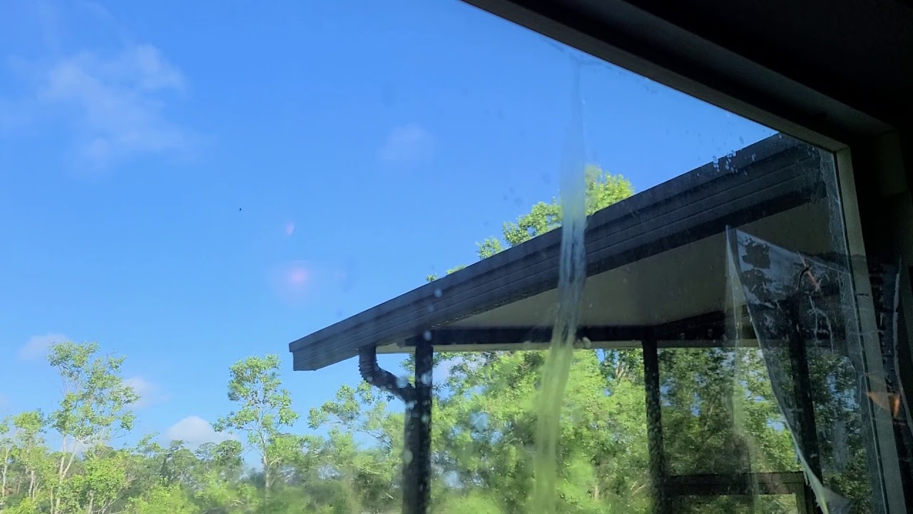 Removing Window Tint off of a Home in Lake Mary, FL & Retinting the Windows with Xpel EV 25% Film.
