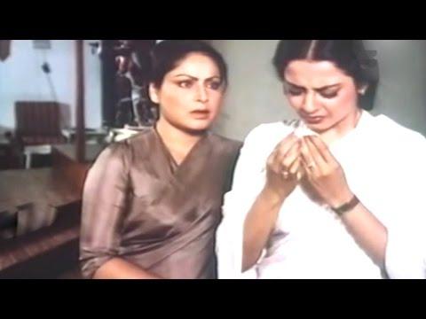 Rakhee Gulzar Wants Rekha's Child @ Zameen Aasmaan - Sanjay Dutt, Shashi Kapoor, Rekha, Anita Raj