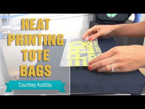 Heat Press Tote Bags