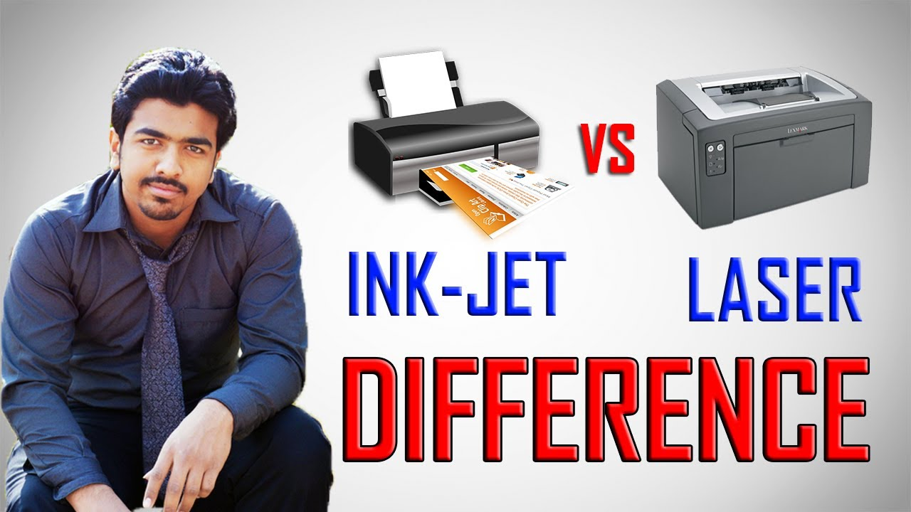 Color printing inkjet vs laser - Difference Between Ink Jet And Laser Printers Inkjet Vs Laser Printers Hindi Urdu