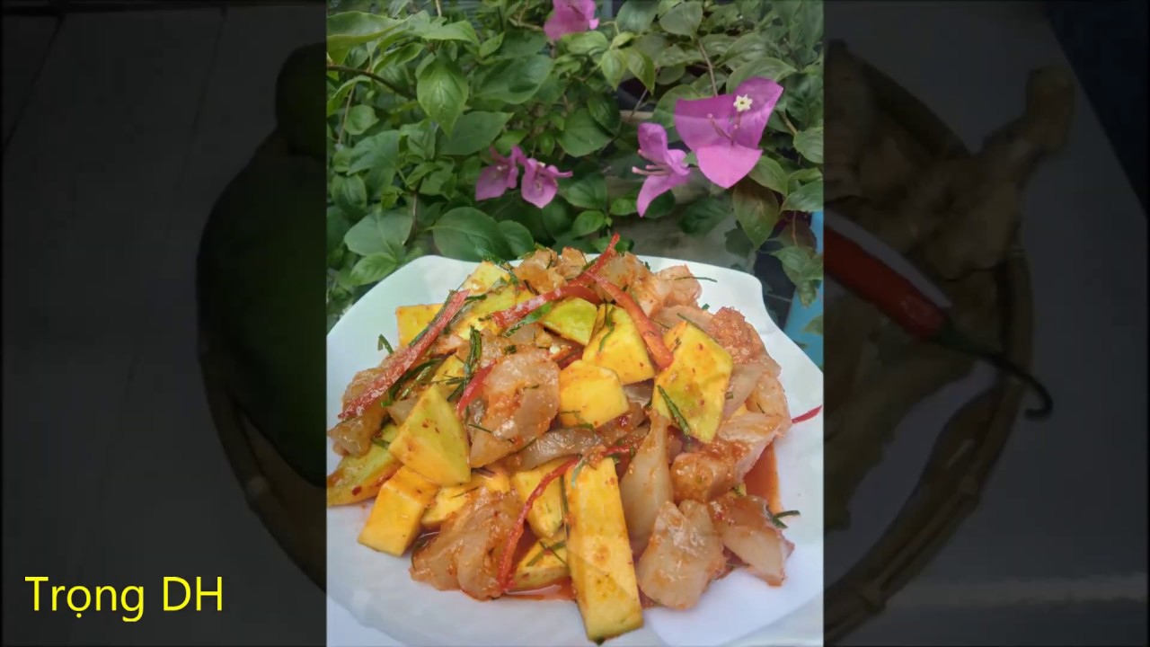 Cách làm gân bò sốt Thái–Món ngon khó cưỡng