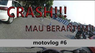 #6 CRASH !  MAU RIBUT DI JALAN ! MINTA KARTU ATM !!??   Motovlog Indonesia