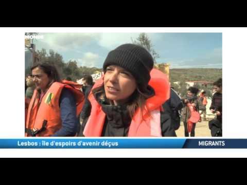 Migrants: Lesbos, l'île d'espoirs d'avenirs déçus